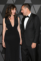 HOLLYWOOD, CA - NOVEMBER 11: Jackie Sandler, Adam Sandler at the AMPAS 9th Annual Governors Awards at the Dolby Ballroom in Hollywood, California on November 11, 2017. Credit: David Edwards/MediaPunch /NortePhoto.com