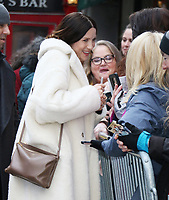 February 12, 2020  Caitriona Balfe at  Strahan, Sara, Keke to talk about new season of Starz's Outlander in NewYork.February 12, 2020. <br /> CAP/MPI/RW<br /> ©RW/MPI/Capital Pictures