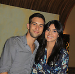 Days Of Our Lives National Tour - Blake Berris and Camila Banus on September 23, 2012 at The Shops at Mohegan Sun, Uncasville, Connecticut. (Photo by Sue Coflin/Max Photos)
