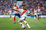 Alvaro Garcia Rivera of Rayo Vallecano in action during the La Liga 2018-19 match between Atletico de Madrid and Rayo Vallecano at Wanda Metropolitano on August 25 2018 in Madrid, Spain. Photo by Diego Souto / Power Sport Images