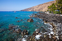 A relaxing day at Kealakekua Bay, Big Island