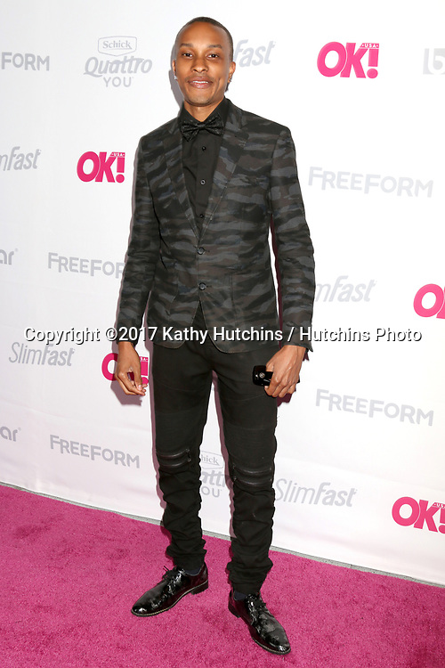 LOS ANGELES - MAY 17:  Rashaad Dunn at the OK! Magazine Summer Kick-Off Party at the W Hollywood Hotel on May 17, 2017 in Los Angeles, CA
