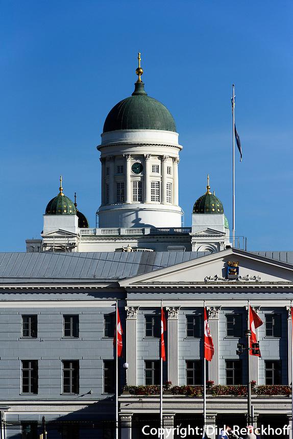 Dom und Rathaus, Helsinki, Finnland