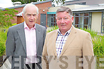 Jimmy O'Connor and Michael Ahern (both retired HSE staff) at the opening of the Tralee Community Nursing Unit.