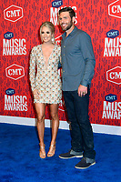 05 June 2019 - Nashville, Tennessee - Carrie Underwood, Mike Fisher. 2019 CMT Music Awards held at Bridgestone Arena. <br /> CAP/ADM/DMF<br /> ©DMF/ADM/Capital Pictures