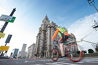 Picture by Allan McKenzie/SWpix.com - 24/09/2017 - Cycling - HSBC UK City Ride Liverpool - Albert Dock, Liverpool, England - Liver building.