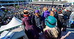 November 3, 2018 : Fans look over the paddock on Breeders Cup World Championships Saturday at Churchill Downs on November 3, 2018 in Louisville, Kentucky. Scott Serio/Eclipse Sportswire/CSM