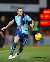 Paul Hayes of Wycombe Wanderers during the Sky Bet League 2 match between Wycombe Wanderers and Newport County at Adams Park, High Wycombe, England on 2 January 2017. Photo by Andy Rowland.