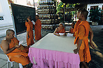 THAILAND, Bangkok, buddhist temple and monastery