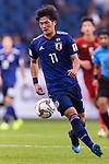 Kitagawa Koya of Japan in action during the AFC Asian Cup UAE 2019 Quarter Finals match between Vietnam (VIE) and Japan (JPN) at Al Maktoum Stadium on 24 January 2018 in Dubai, United Arab Emirates. Photo by Marcio Rodrigo Machado / Power Sport Images