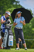 Brooke M. Henderson (CAN) waits to tee off on 11 during round 3 of the 2018 KPMG Women's PGA Championship, Kemper Lakes Golf Club, at Kildeer, Illinois, USA. 6/30/2018.<br /> Picture: Golffile | Ken Murray<br /> <br /> All photo usage must carry mandatory copyright credit (&copy; Golffile | Ken Murray)