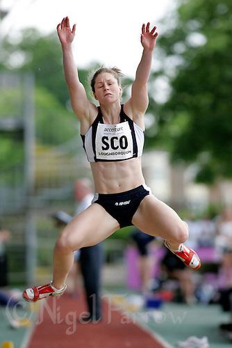 20 MAY 2007 - LOUGHBOROUGH, GBR - Gillian Cooke (SCO) - Long Jump - Loughborough International Athletics (PHOTO (C) NIGEL FARROW)