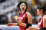 Nana Iwasaka (JPN), November 16,2011 - Volleyball : FIVB Women's World Cup 2011, 4th Round match between Japan 3-0 Kenya at Yoyogi 1st Gymnasium, Tokyo, Japan. (Photo by Daiju Kitamura/AFLO SPORT) [1045]