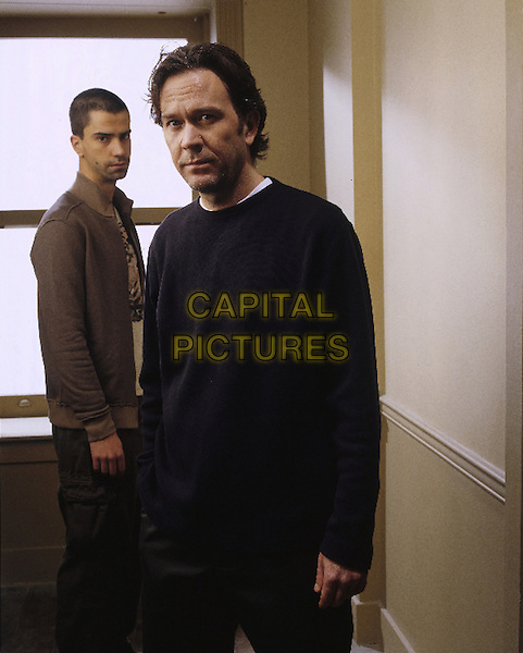 HAMISH LINKLATER & TIMOTHY HUTTON.in 5 Days To Midnight.*Editorial Use Only*.www.capitalpictures.com.sales@capitalpictures.com.Supplied by Capital Pictures.
