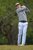 Ben Crane (USA) watches his tee shot on 2 during Round 3 of the Valero Texas Open, AT&amp;T Oaks Course, TPC San Antonio, San Antonio, Texas, USA. 4/21/2018.<br /> Picture: Golffile   Ken Murray<br /> <br /> <br /> All photo usage must carry mandatory copyright credit (&copy; Golffile   Ken Murray)