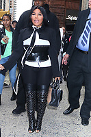 NEW YORK, NY- October 8: Lil' Kim at Build Series in New York City on October 08, 2019 <br /> CAP/MPI/RW<br /> ©RW/MPI/Capital Pictures