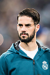 Isco Alarcon of Real Madrid getting into the field during the Europe Champions League 2017-18 match between Real Madrid and Borussia Dortmund at Santiago Bernabeu Stadium on 06 December 2017 in Madrid Spain. Photo by Diego Gonzalez / Power Sport Images
