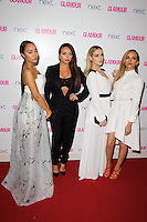 Little Mix arrives for the Glamour Women of the Year Awards 2014 in Berkley Square, London. 03/06/2014 Picture by: Steve Vas / Featureflash