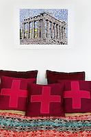 modern bed cushions