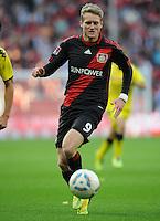 FUSSBALL   1. BUNDESLIGA   SAISON 2011/2012    4. SPIELTAG Bayer 04 Leverkusen - Borussia Dortmund              27.08.2011 Andre SCHUERRLE (Bayer 04 Leverkusen) am Ball