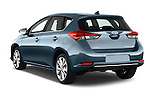 Car pictures of rear three quarter view of 2015 Toyota Auris Lounge 5 Door Hatchback Angular Rear