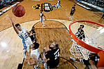 GLENDALE, AZ - APRIL 03: Justin Jackson #44 of the North Carolina Tar Heels shoots the ball during the 2017 NCAA Men's Final Four National Championship game against the Gonzaga Bulldogs at University of Phoenix Stadium on April 3, 2017 in Glendale, Arizona.  (Photo by Chris Steppig/NCAA Photos via Getty Images)