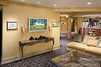Decorative Home Entertainment Theater Lobby