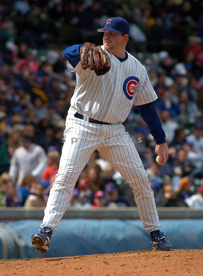 Glendon Rusch during the Chicago Cubs v. Pittsburgh Pirates game on April 24, 2005.....Cubs won 5-2.....Chris Bernacchi  / SportPics........