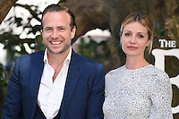 Rafe Spall &amp; Elize du Toit at the UK premiere of 'The BFG' at the Odeon Leicester Square, London.<br /> July 17, 2016  London, UK<br /> Picture: Steve Vas / Featureflash