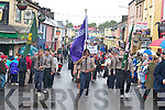 Puck Fair Parade through Killorglin.