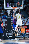Ante Tomic (l) and Jordan Mickey during Real Madrid vs FC Barcelona final of Supercopa Endesa. September 22, 2019. (ALTERPHOTOS/Francis González)