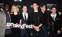 NEW YORK, NY-October 19:Drew Powell, Chris Chalk, Erin Richards, Ben McKenzie, Cory Michael Smith, Donal Logue and Robin Lord Taylor at PaleyFest New York presents Gotham at the Paley Center for Media in New York.October 19, 2016. Credit:RW/MediaPunch