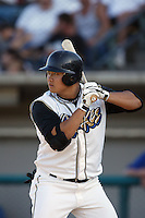 September 1 2008:  Hank Conger of the Rancho Cucamonga Quakes during game against the Inland Empire 66'ers at The Epicenter in Rancho Cucamonga,CA.  Photo by Larry Goren/Four Seam Images
