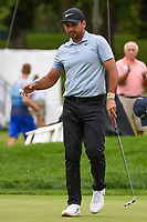 Jason Day (AUS) after sinking his putt on 11 during Rd4 of the 2019 BMW Championship, Medinah Golf Club, Chicago, Illinois, USA. 8/18/2019.<br /> Picture Ken Murray / Golffile.ie<br /> <br /> All photo usage must carry mandatory copyright credit (© Golffile | Ken Murray)