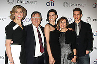 Christine Baranski, Robert King, Julianna Margulies, Michelle King, Matt Czuchry<br /> at &quot;The Good Wife&quot; at PaleyFEST LA 2015, Dolby Theater, Hollywood, CA 03-07-15<br /> David Edwards/DailyCeleb.com 818-249-4998