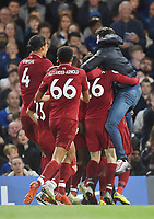 Daniel Sturridge of Liverpool scores and celebrates <br /> 29-09-2018 Premier League <br /> Chelsea - Liverpool<br /> Foto PHC Images / Panoramic / Insidefoto <br /> ITALY ONLY