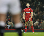 Leigh Halfpenny of Wales prepares to take a penalty kick - RBS 6Nations 2015 - Wales  vs England - Millennium Stadium - Cardiff - Wales - 6th February 2015 - Picture Simon Bellis/Sportimage