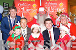 Launching the 2008 Christmas in Killarney schedule in the Dromhall Hotel on Sunday was front l-r: Eoin Crowley, Donnacha Galvin Killarney Chamber of Commerce, Eve Crowley, John Healy Christmas in Killarney co-Chairman, Andrea Rennie. Back row Patrick O'Donoghue Killarney mayor, Santa Claus and Mrs Claus   Copyright Kerry's Eye 2008