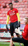 Jamal Blackman of Sheffield Utd during the Carabao Cup, second round match at Bramall Lane, Sheffield. Picture date 22nd August 2017. Picture credit should read: Simon Bellis/Sportimage