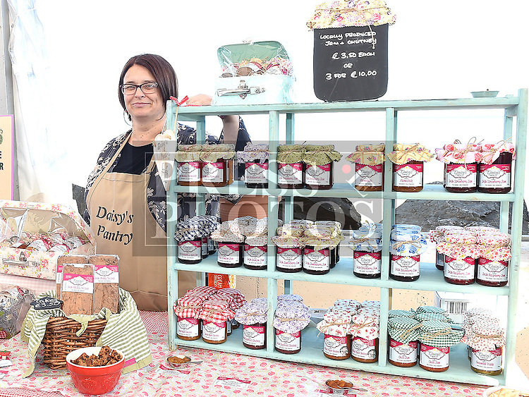 Caroline McDonnell from Daisy's Pantry at the Taste of Togher food festival at Linnduchaill resturant in the Glyde inn Annagassan. Photo:Colin Bell/pressphotos.ie
