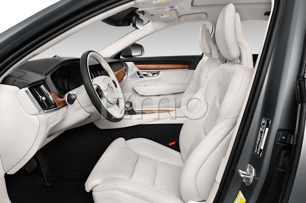 Front seat view of a 2019 Volvo S90 T6 Inscription 4 Door Sedan front seat car photos