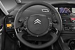 Steering wheel view of a 2010 Citroen GRAND C4 PICASSO Millenium 5 Door Minivan 2WD