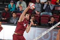 Stanford Volleyball M vs Long Beach St. , January 20, 2018