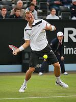 Netherlands, Den Bosch, 16.06.2014. Tennis, Topshelf Open, Thiemo de Bakker (NED)<br /> Photo:Tennisimages/Henk Koster