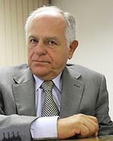 ATENCAO EDITOR: FOTO EMBARGADA PARA VEICULO INTERNACIONAL - SAO PAULO, SP, 11 NOVEMBRO 2012 - REUNIAO DO (COPS) E PLENARIA DA (ACSP)  - A Federaçao das Associaçoes  Comerciais do Estado de Sao Paulo (FACESP), recebeu nessa segunda feira em reuniao do Conselho Politico e Social (COPS), conjunta com a reuniao plenaria o prefeito de Sao Paulo Gilberto Kassab e o governador do estado da Bahia Jaques Wagner e contou com a presença do ex ministro das comunicaçoes do governo de FHC Pimenta da Veiga (Foto), na sede da Associaçao Comercial de Sao Paulo na regiao da  Se no centro da cidade nessa segunda, 12 (FOTO LEVY RIBEIRO/BRAZIL  PHOTO PRESS)