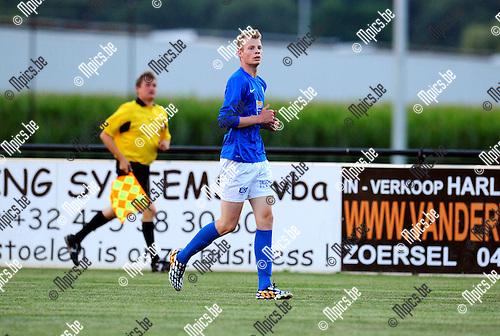 2014-07-24 / Voetbal / seizoen 2014-2015 / KVV Vosselaar / Olivier De Weer<br /><br />Foto: mpics.be