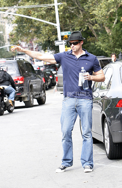 WWW.ACEPIXS.COM . . . . .  ....September 24 2009, New York City....Actor Hugh Jackman and his family were spotted in Soho on September 24 2009 in New York City....Please byline: NANCY RIVERA- ACE PICTURES.... *** ***..Ace Pictures, Inc:  ..tel: (212) 243 8787 or (646) 769 0430..e-mail: info@acepixs.com..web: http://www.acepixs.com