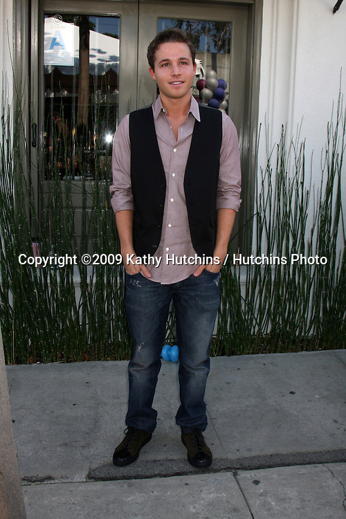 Shawn Pyfrom  arriving at the 7th Annual John Varvatos Stuart House Benefit at the John Varvatos Store in West Hollywood, CA  on.March 8, 2009.©2009 Kathy Hutchins / Hutchins Photo...                .