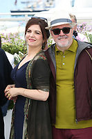 AGNES JAOUI AND PEDRO ALMODOVAR - PHOTOCALL OF JURY AT THE 70TH FESTIVAL OF CANNES 2017
