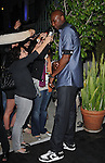 "Lamar Odom towers over the reporters  at The Axe Music ""One Night Only"" Concert series,Weezer headlines & takes over The Dunes Inn Motel in Hollywood, California on September 21,2010                                                                               © 2010 Hollywood Press Agency"